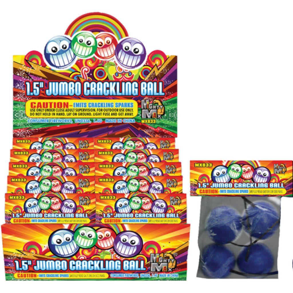 Jumbo Crackling Ball